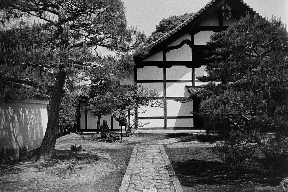 Traditional Japanese architecture.