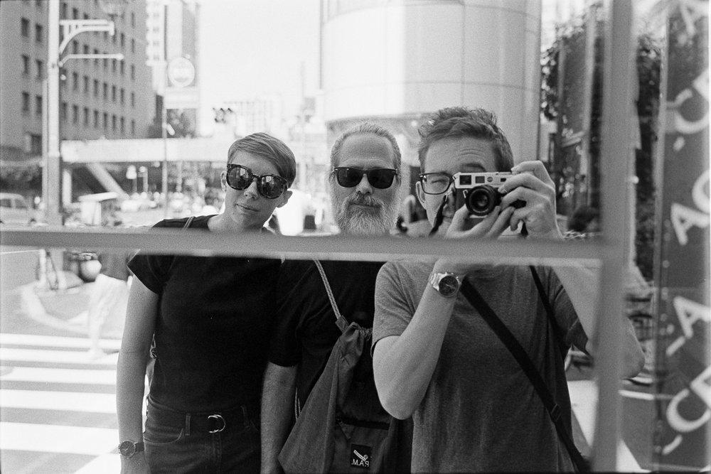 Rangefinder selfie time.