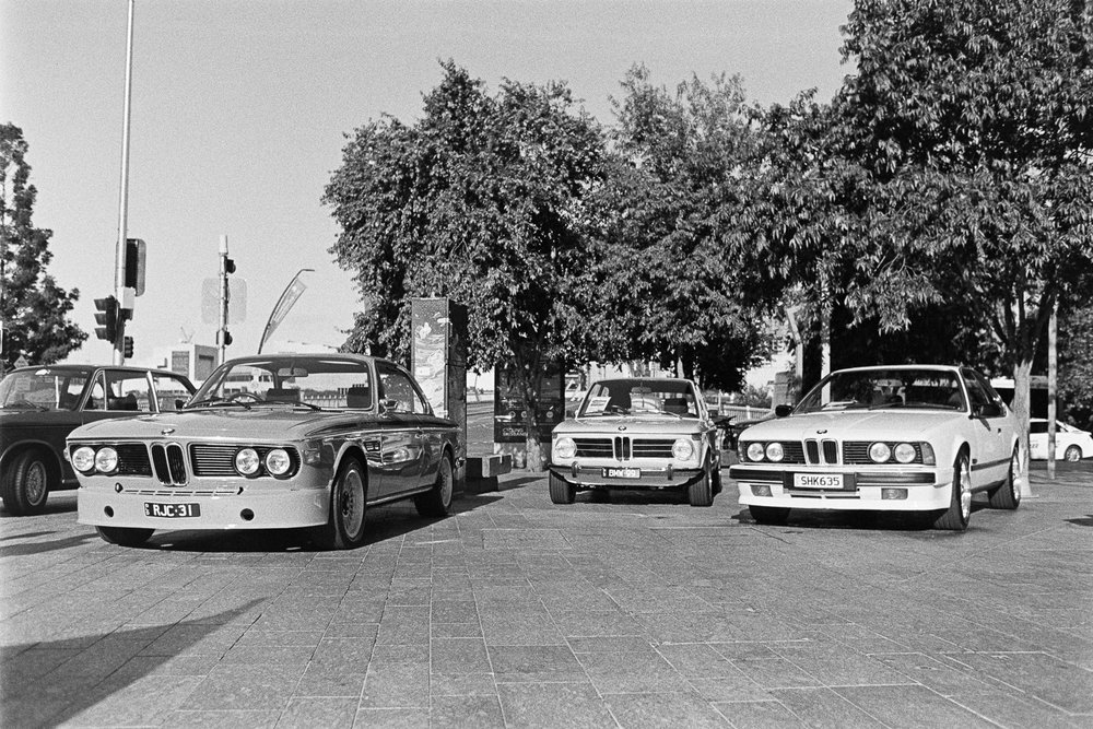 There was a BMW meet in Brisbane Square.