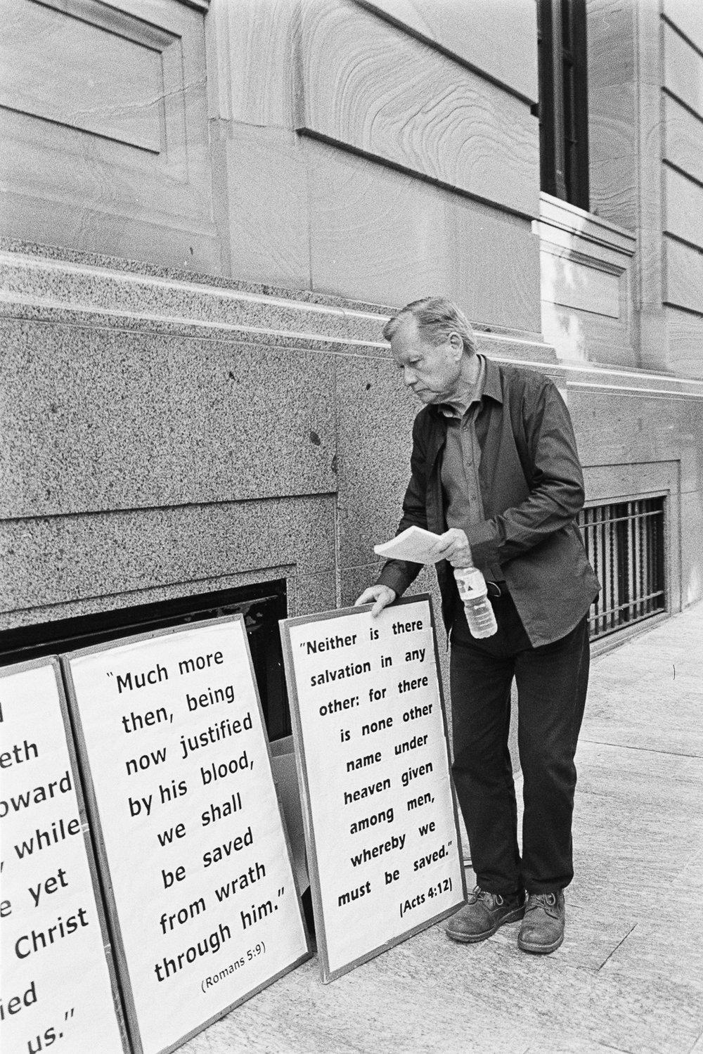 Preacher man.