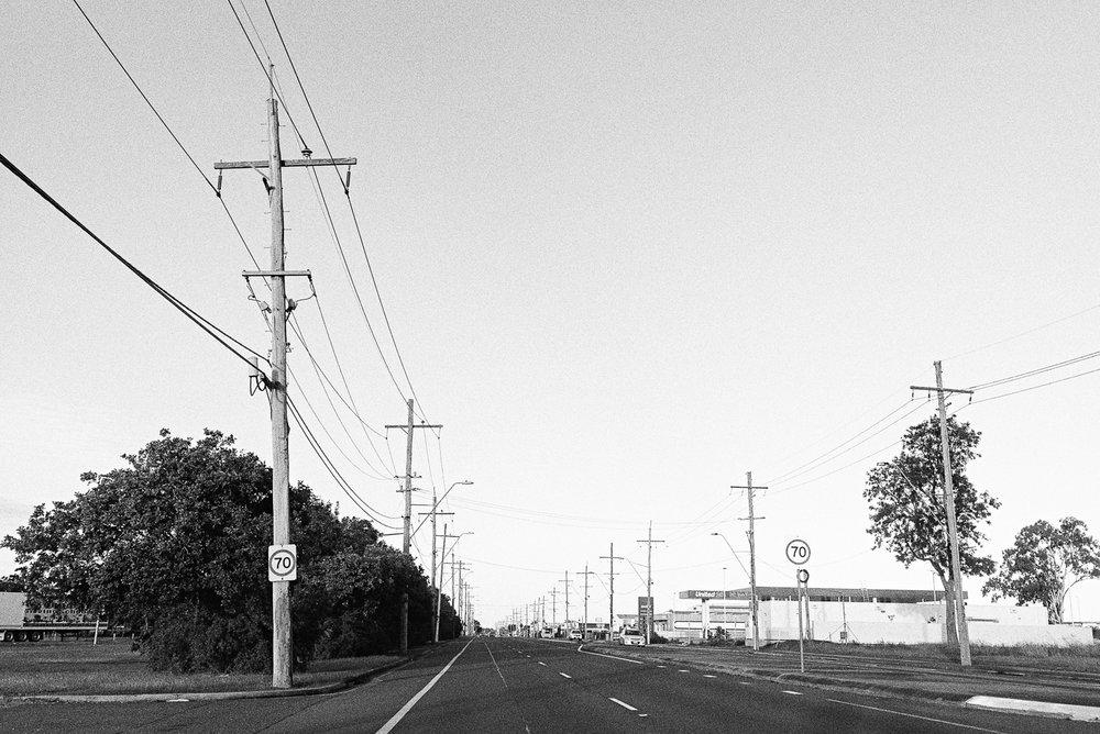 Cashmere roads.