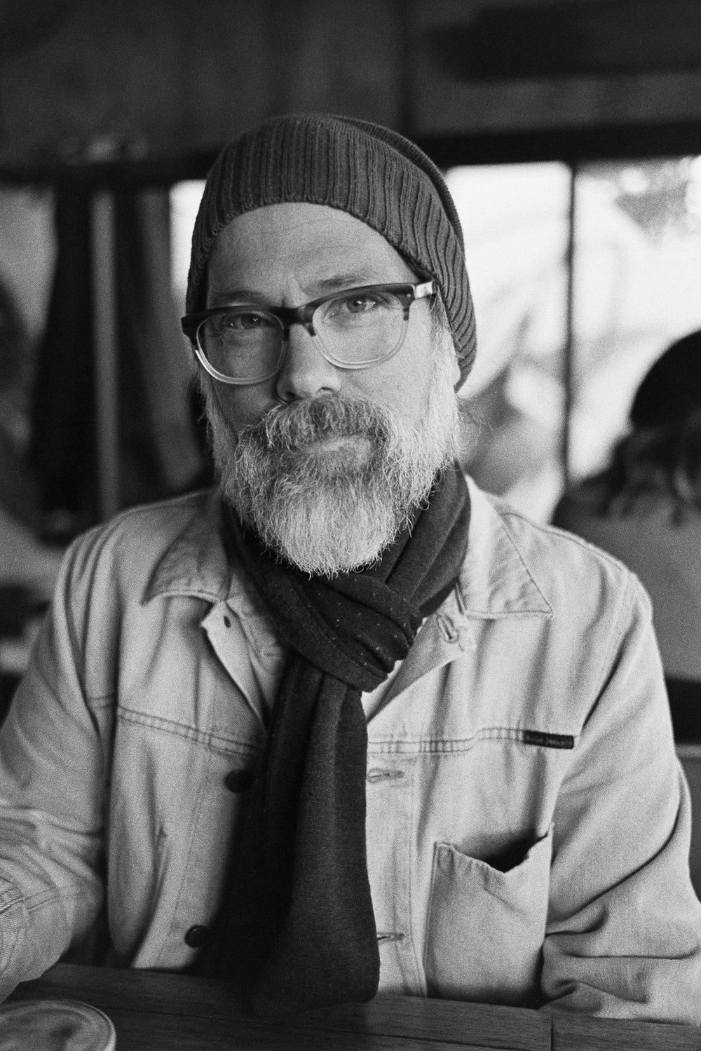 Portrait of Simon on HP5.