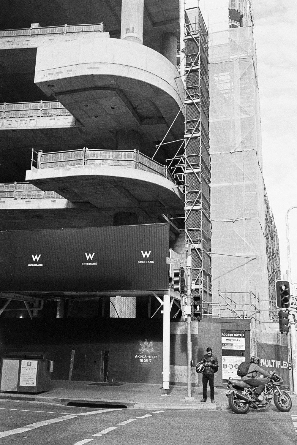 Building buildings.