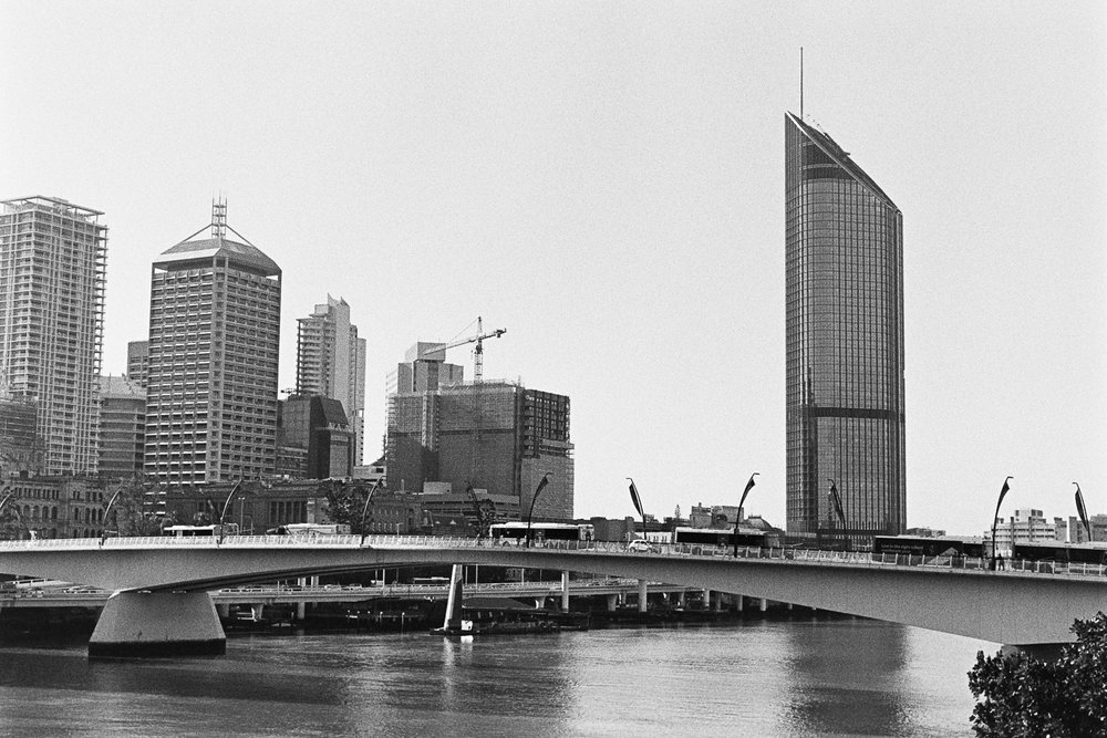 Brisbane City is growing up.