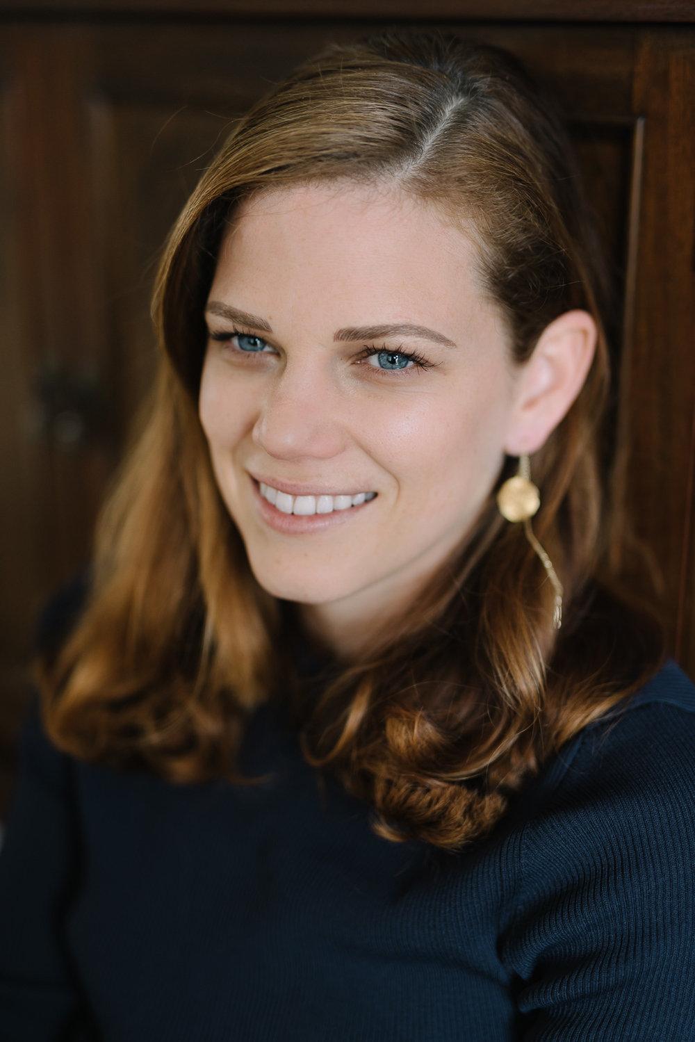 50mm portrait of Lauren.