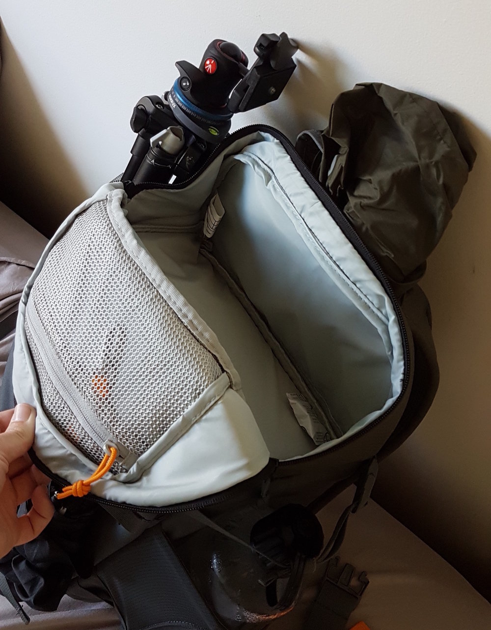 LowePro Flipside Trek 450 AW, Accessories Pouch, Hiking, Camera Backpack, Gear, Manfrotto Befree Tripod, Water Bottle, Trekking, Travel, MacBook Retina.jpg