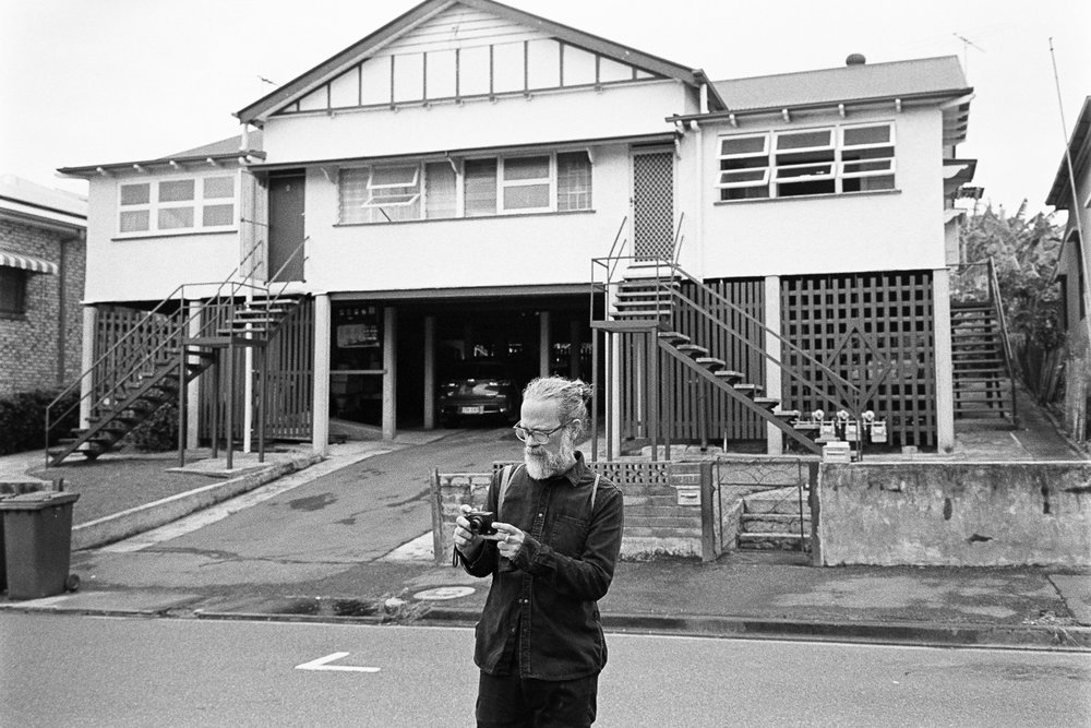 Simon making pictures with his Ricoh GR.