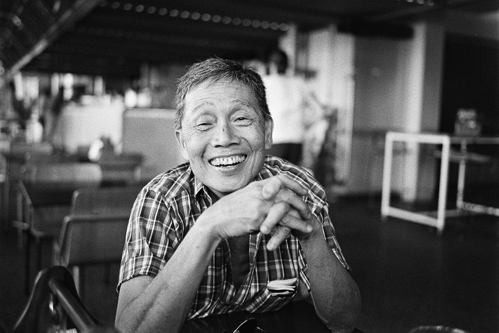 Keng, the smiling man.