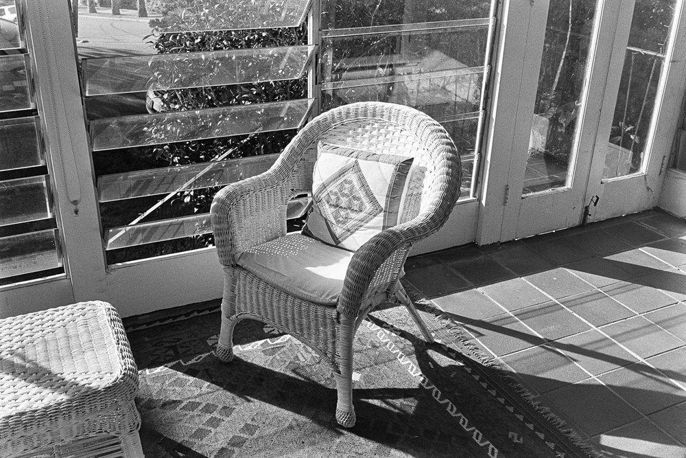 A chair.