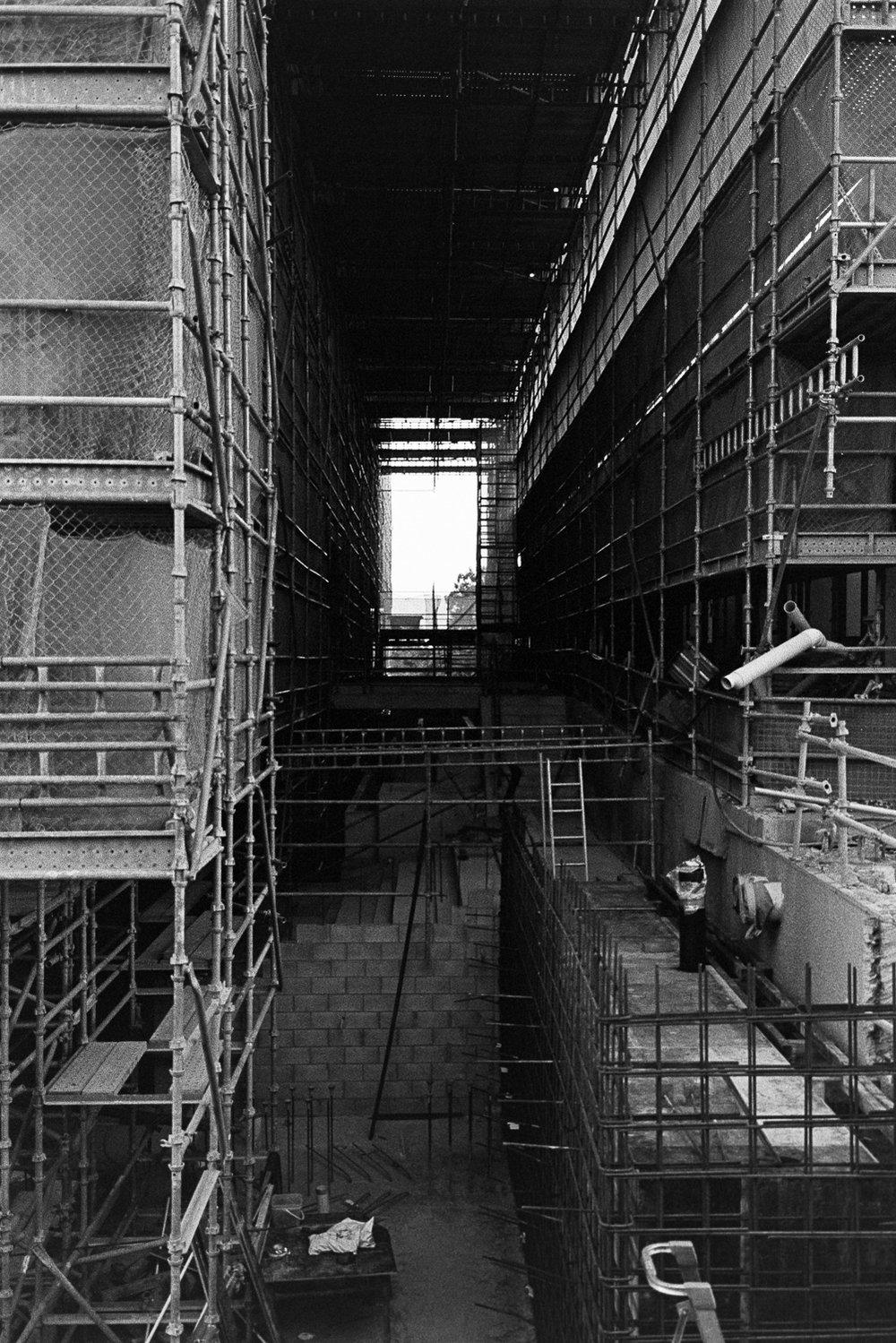 QUT Kelvin Grove under construction.