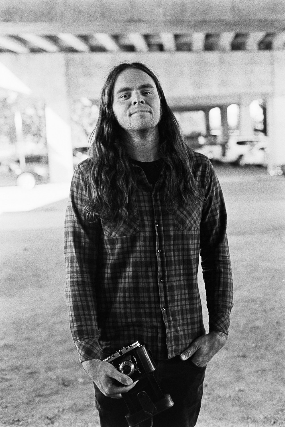 Luke Henery of Violent Soho and film photographer.