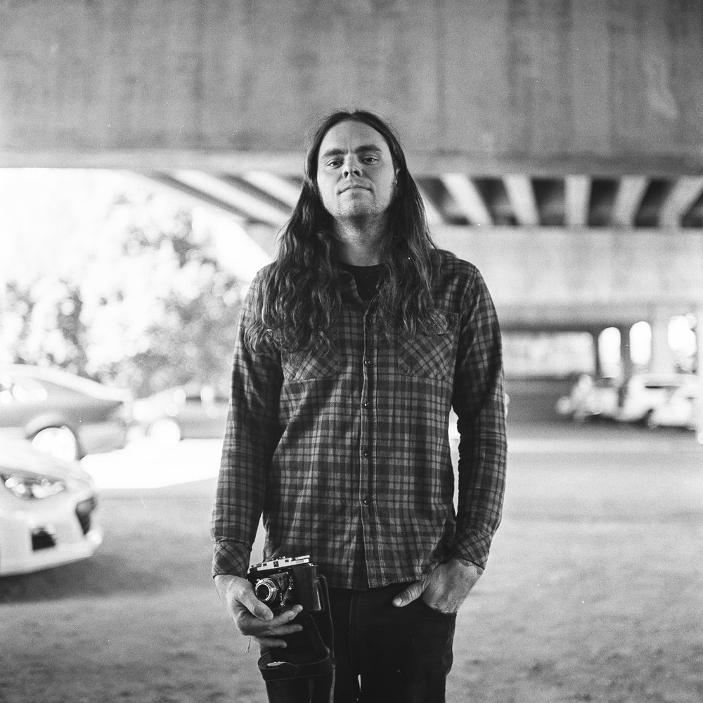 Luke, film photographer and bass player from Violent Soho.