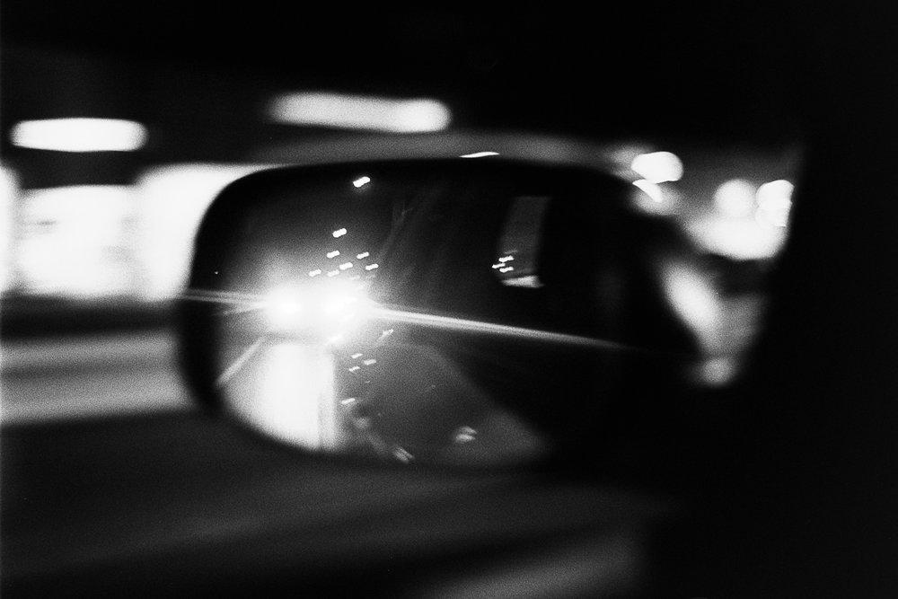 Night drivin'.