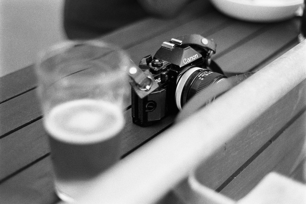 The legendary Canon A-1.
