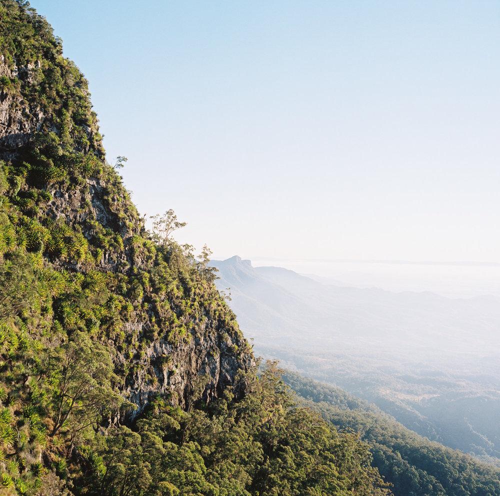 Main Range from Mount Cordeaux Lookout.