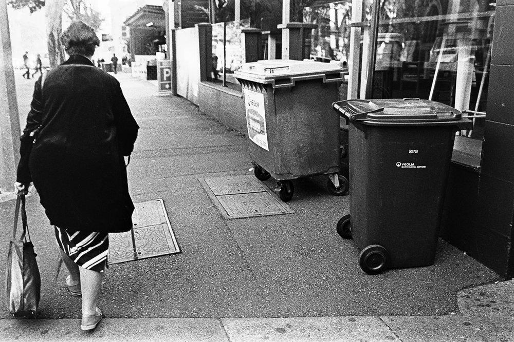 Steer clear of those bins.