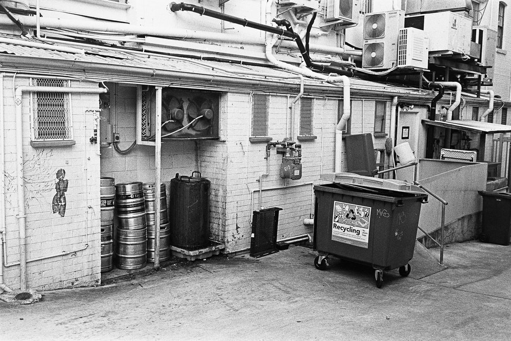 Dumpsters and kegs, volume one million.