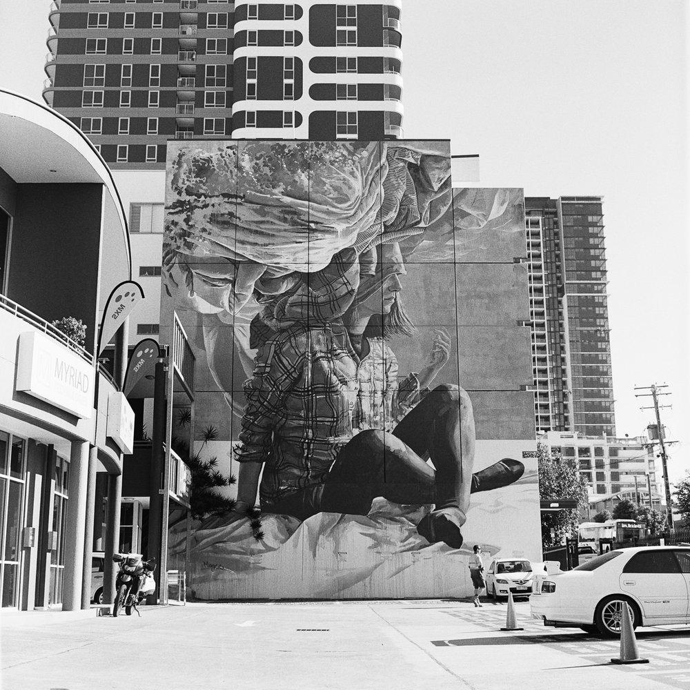 That mural…