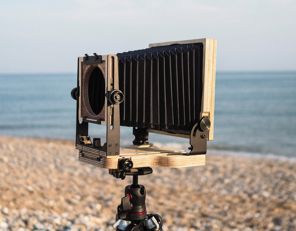 Intrepid 5x4 Mark III View Camera