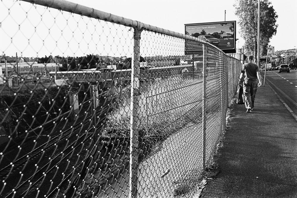Untitled fence..