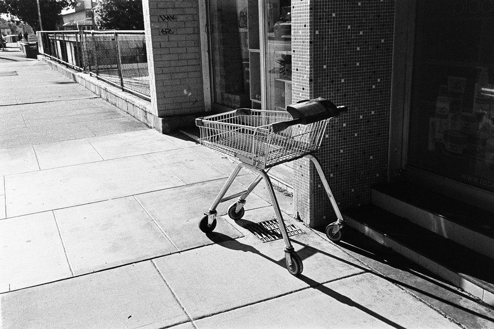 Abandoned shopping cart #1