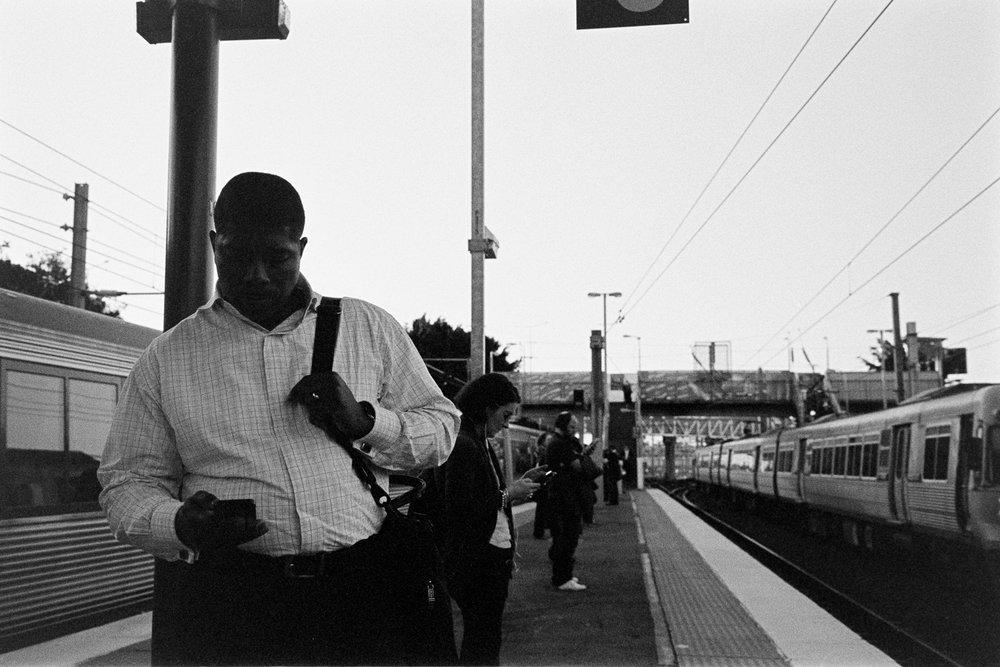 Phones….  Tip, don't underexpose negative film.