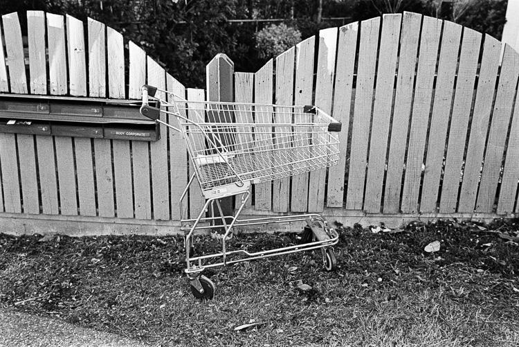 I swear I see abandoned shopping carts everywhere now.