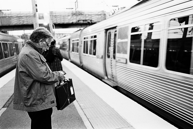 Commuter life.