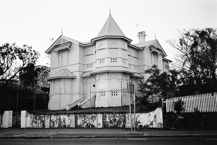 That haunted house.