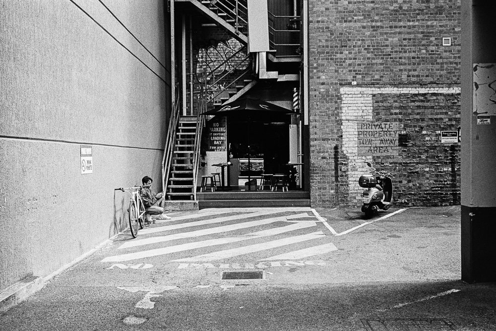 Hipster alley coffee