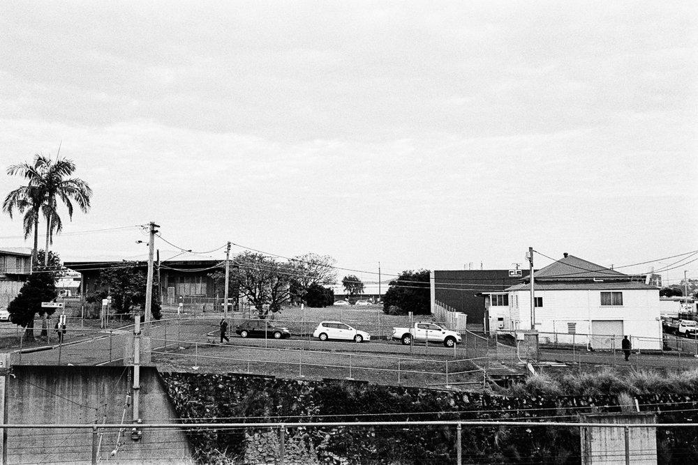 Bowen Hills landscape.