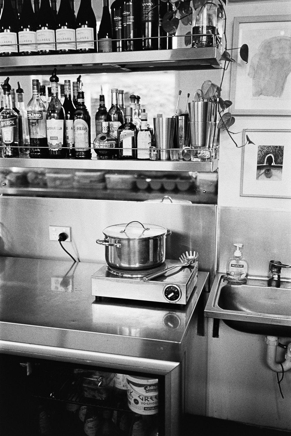 Still lifes at Jamie's Espresso Bar.
