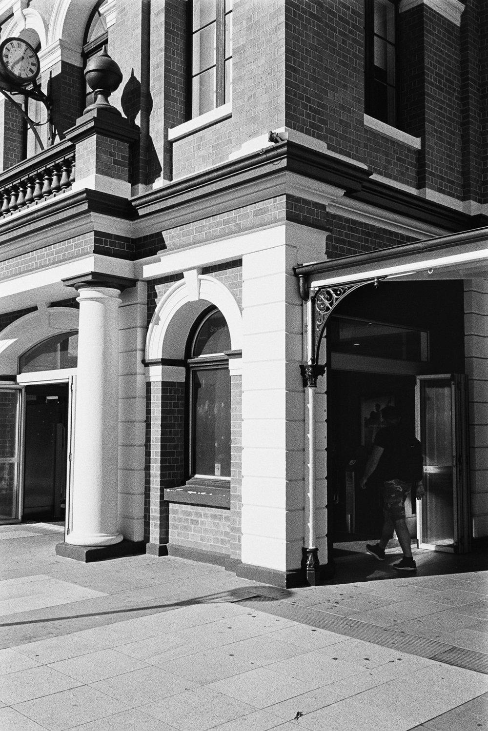 South Brisbane station.