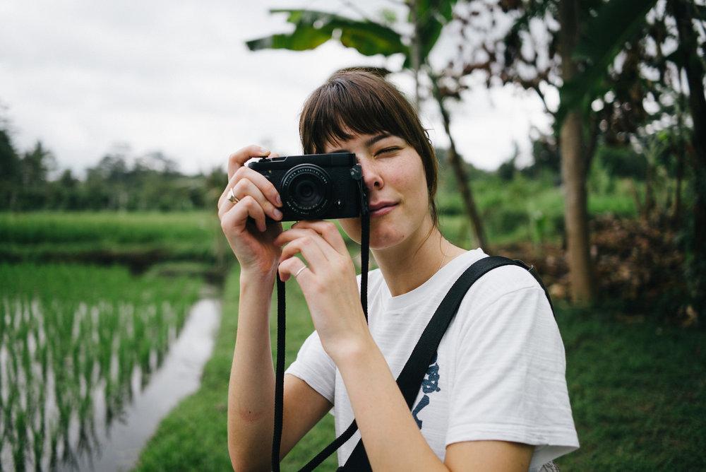 Hannah in Bali, 2016.