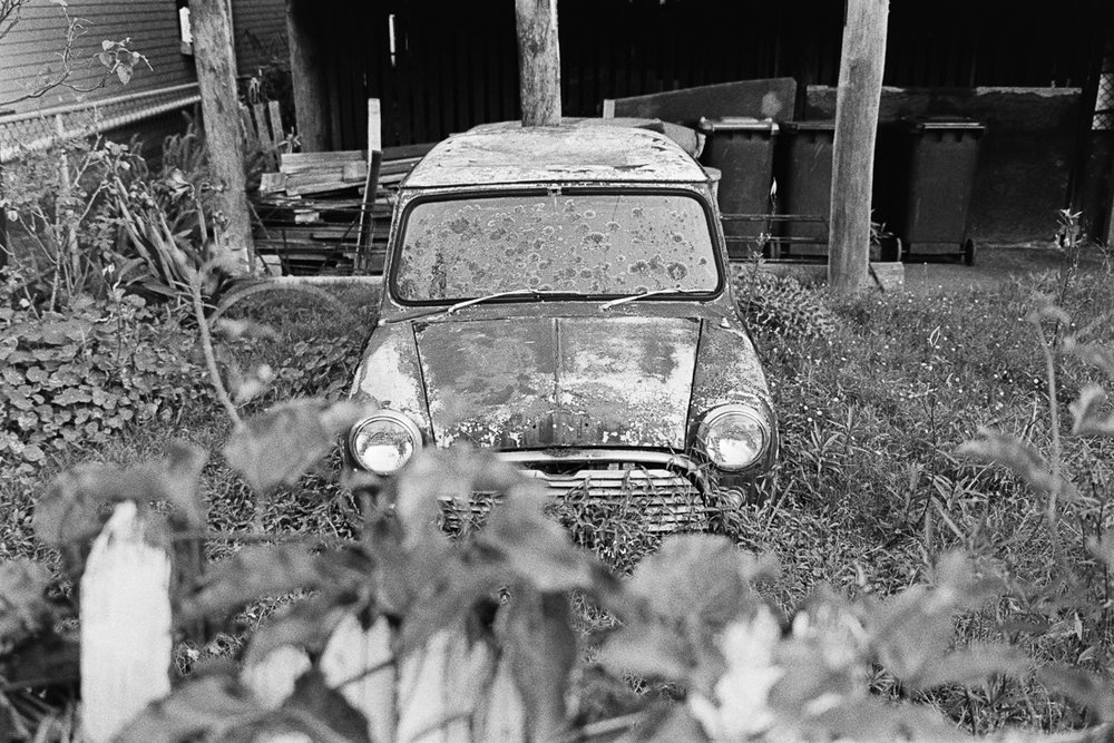 That old decrepit Mini