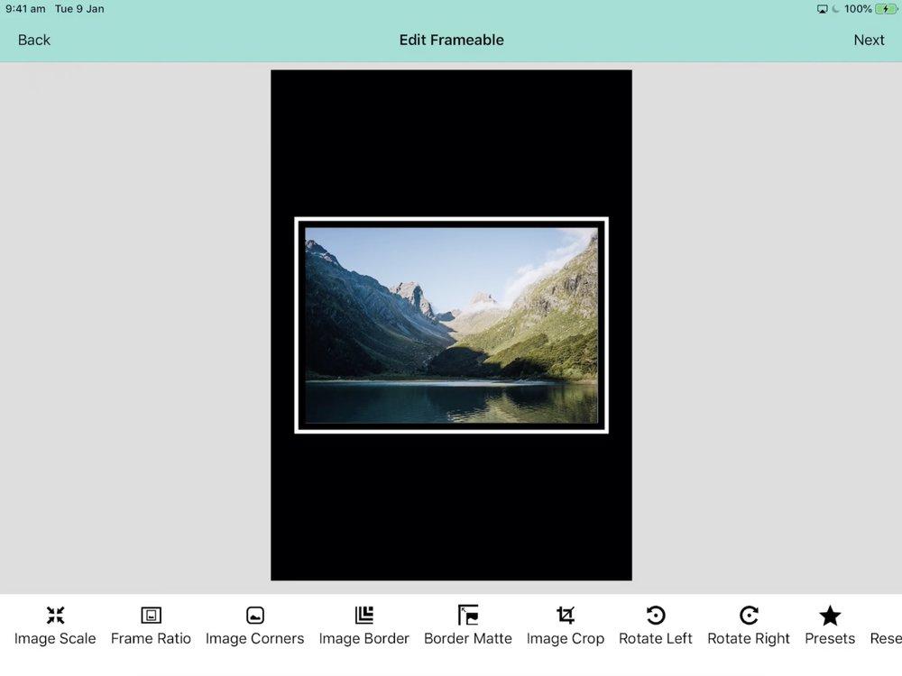 Frameable for iOS, iPad, Framing, Photos, Social Media, Photographer, Nick Bedford.jpg