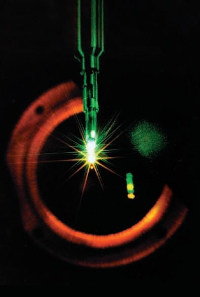 NOVA laser fusion experiment - Courtesy LLNL