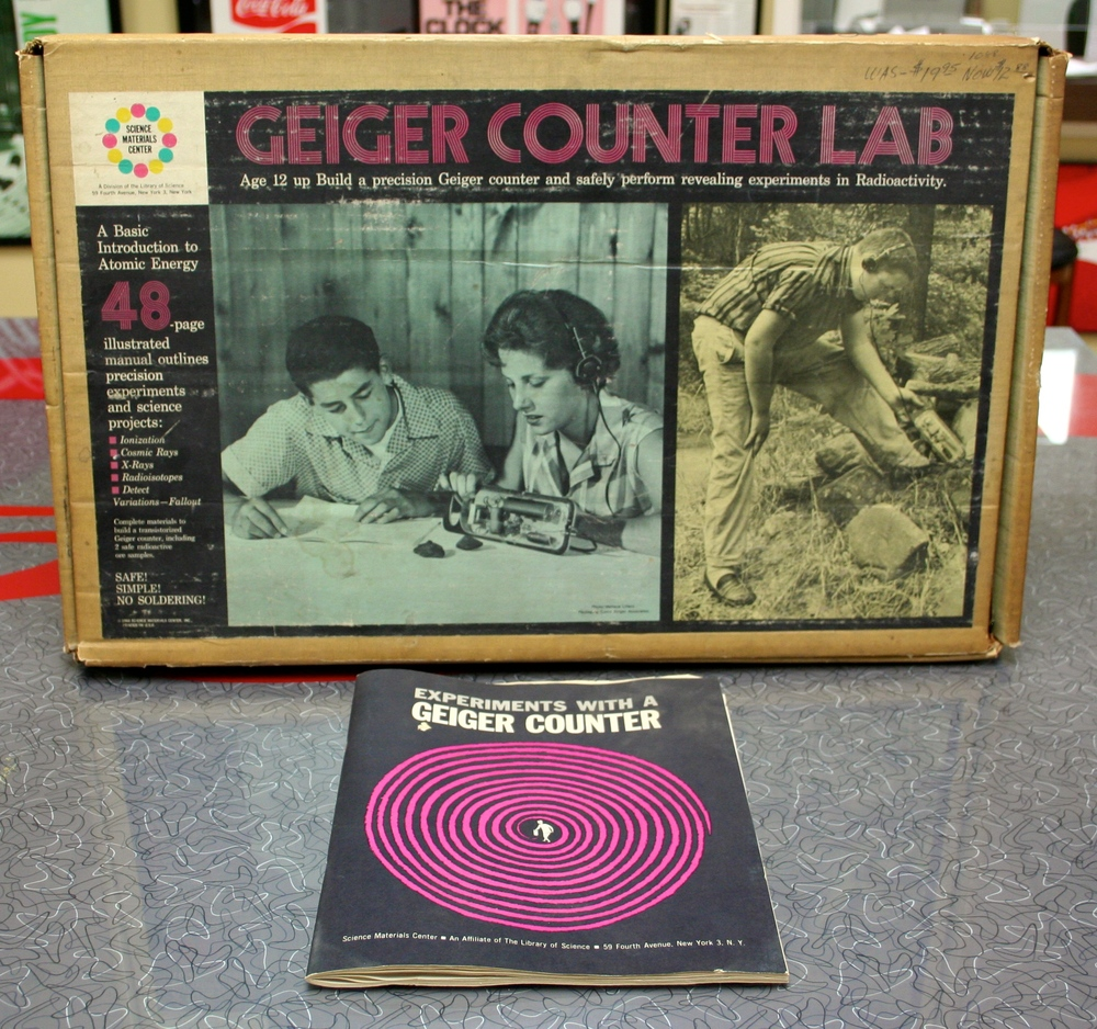 Geiger Counter Lab, Library of Science