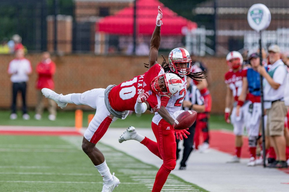 D2517 Football vs Western Kentucky University WKU
