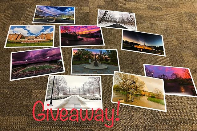 G I V E A W A Y! Free prints! Back from hiatus cause summer things! With the start of school coming up, what better way to get back into the swing of things. It's simple: leave a comment below to enter. That's all!! Prints are 13x19in and will be shipped/delivered to you! Winners chosen tomorrow 8/2 at 5:00PM EST Ten winners 5 from Facebook 5 from Instagram! Any photo from my website!! :) #miamioh #loveandhonor