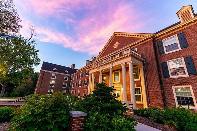 New hall for the year, quite exciting! Especially excited for these Oxford sunsets. I'm a sucker for a good sunset. :) #miamioh