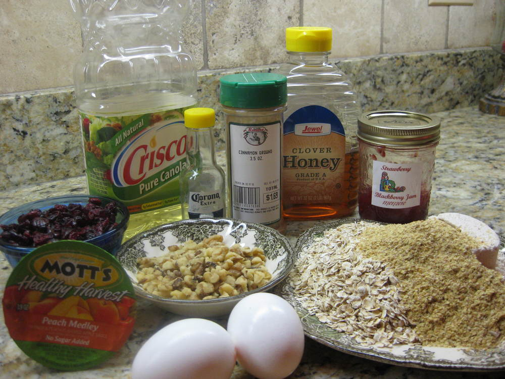 Ingredients all laid out and ready to go.