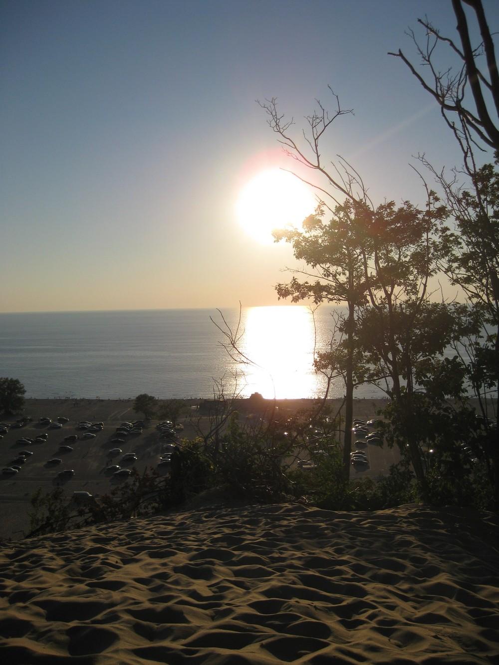 Sunset at the beach - Warren Dunes