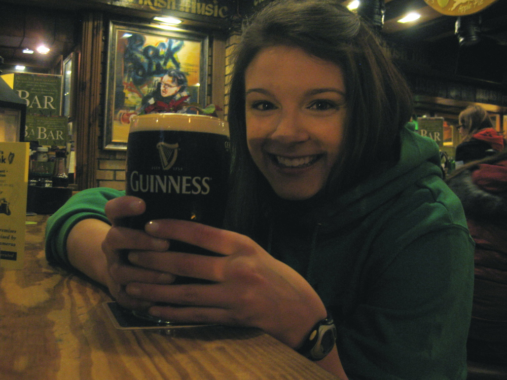 First Guinness EVER!