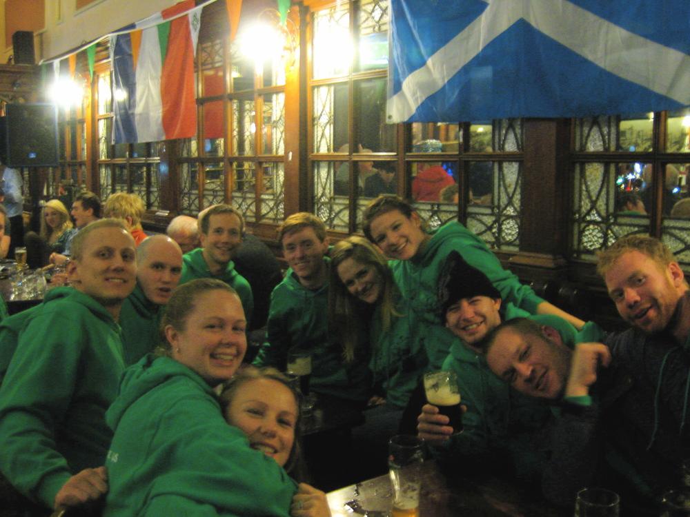Pub Crawling in Dublin