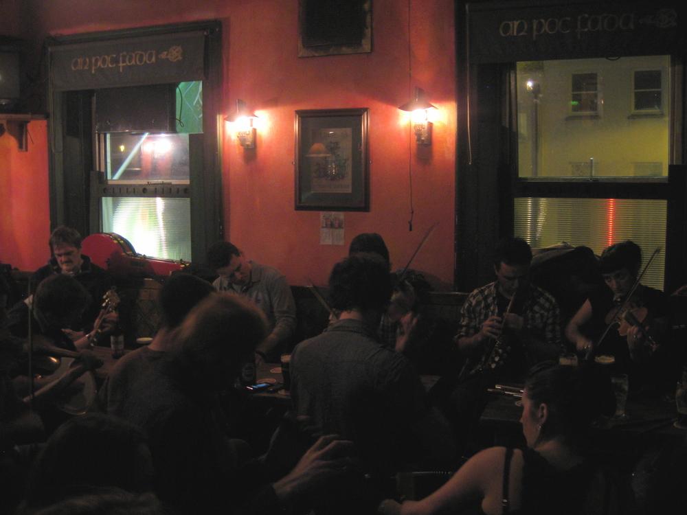 Devitt's Pub - upstairs jam sesh