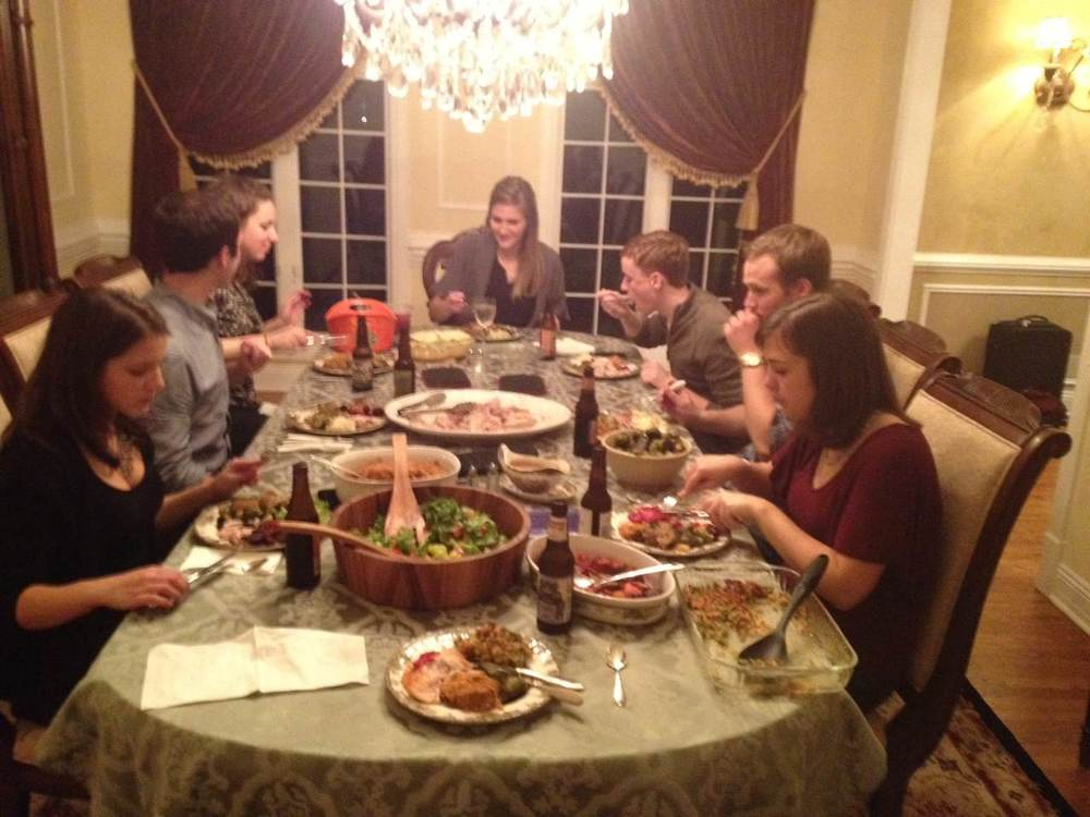First annual friendsgiving