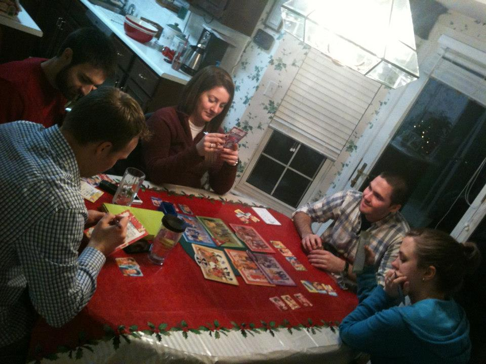 Playing Mystery Date
