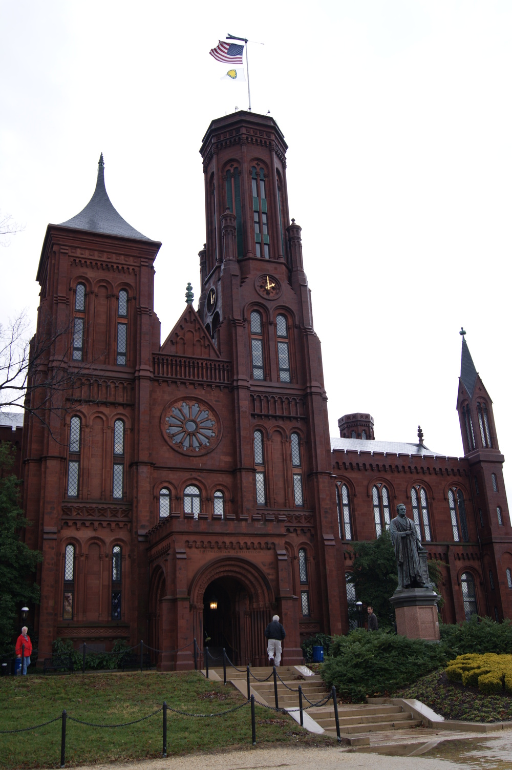 Smithsonian Castle.  I spy a Chase.