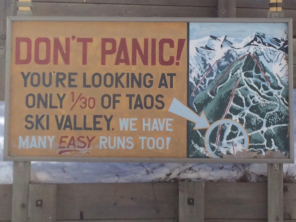 Don't Panic...cheya. right.